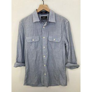 Nordstrom Long Sleeve Button-Down Shirt Size M